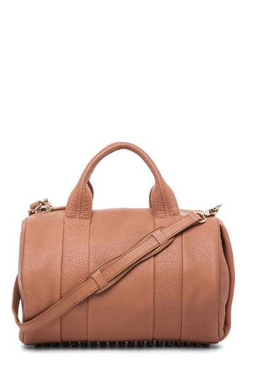 Alexander Wang Rocco Soft Pebble Leather Bag In Tan