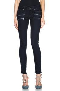 Paige Denim Edgemont Ultra Skinny In Blue