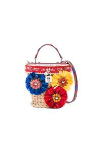 Dolce & Gabbana Dolce Beauty In Floral,red,geometric Print,checkered & Plaid