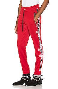 Amiri Souvenir Track Jogger In Red