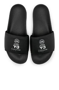 Y-3 Yohji Yamamoto Adilette In Black