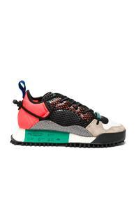 Adidas By Alexander Wang Reissue Run Sneakers In Red,neon,black