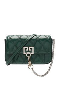 Givenchy Pocket Chain Wallet In Green