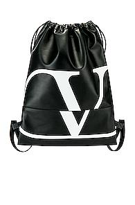 Valentino Backpack In Black,white