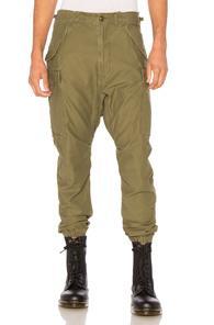 R13 Surplus Military Cargo Pants In Green