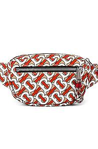 Burberry Cannon Monogram Bum Bag In Novelty,red,white