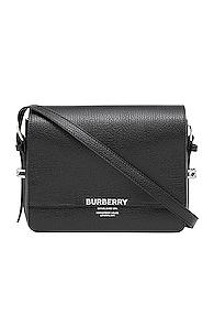 Burberry Small Horseferry Crossbody Bag In Black