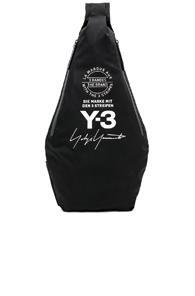 Y-3 Yohji Yamamoto Yohji Messenger Bag In Black