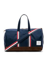 Thom Browne Nylon Tech Unstructured Holdall In Blue