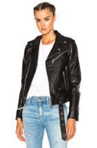 Amiri New Vitellino Rider Jacket In Black