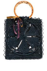 Silvia Tcherassi Luriza Bag In Blue