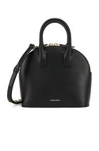 Mansur Gavriel Mini Top Handle Bag In Black