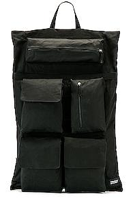 Raf Simons Eastpak Poster Backpack In Black