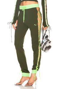 Fenty By Puma Laced Sweatpant In Green