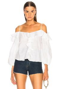 Alexis Tiana Top In White