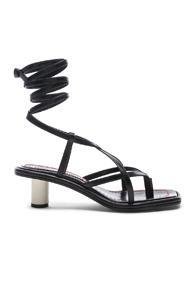 Proenza Schouler Gladiator Sandals In Black