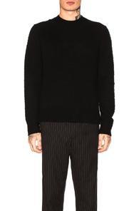Acne Studios Peele Knit Pullover In Black
