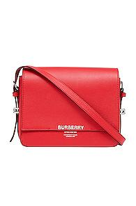 Burberry Small Horseferry Crossbody Bag In Red