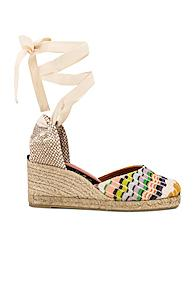 Castaner X Missoni Carina Wedge Espadrille In Neutral,abstract