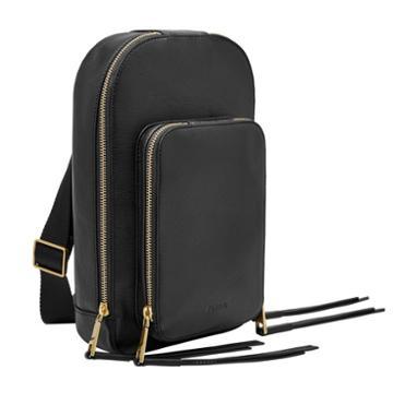 Fossil Dove Sling Pack  Handbags Black- Zb7836001