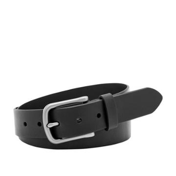 Fossil Percy Belt  Clothing Accessories Black- Mb103900134