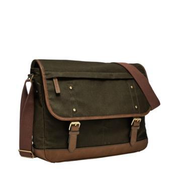 Fossil Buckner Messenger  Bag Loden Green- Mbg9448318