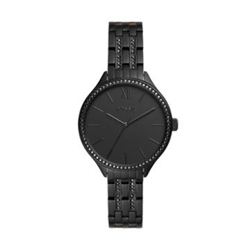 Fossil Suitor Three-hand Black Stainless Steel Watch  Jewelry - Bq3438