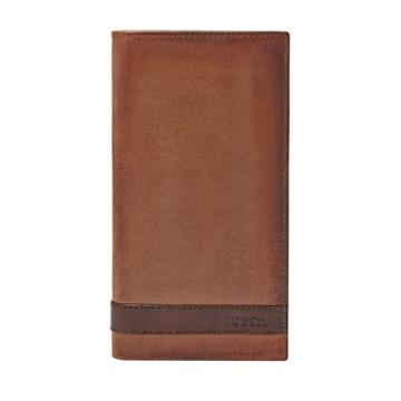Fossil Quinn Executive  Wallet Brown- Ml3651200