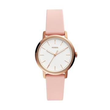 Fossil Neely Three-hand Blush Silicone Watch  Jewelry - Es4669