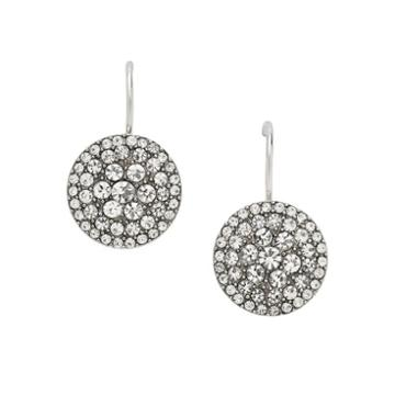 Fossil Glitz Disc Earring  Earrings - Jf00134040