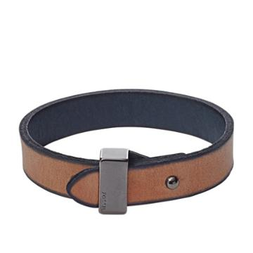 Fossil Reversible Leather Bracelet Jf01840001