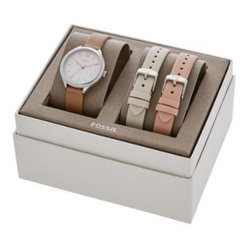 Fossil Suitor Three-hand Interchangeable Strap Box Set  Jewelry - Bq3416set