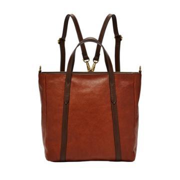 Fossil Sydney Convertible Backpack  Handbags Brandy- Shb2125213