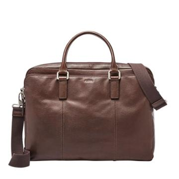 Fossil Walton Document Bag  Bags Brown- Sbg1225200