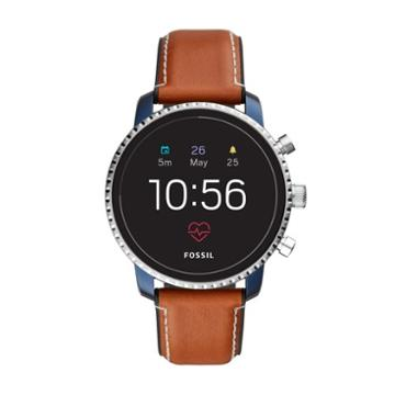 Fossil Gen 4 Smartwatch - Q Explorist Hr Tan Leather   - Ftw4016