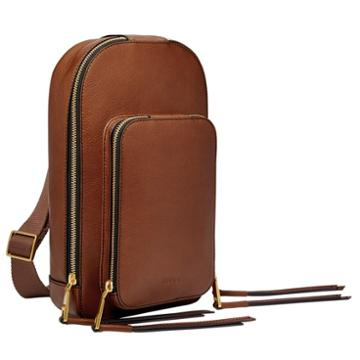 Fossil Dove Sling Pack  Handbags Brown- Zb7836200