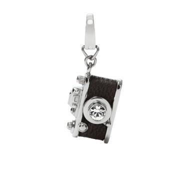 Fossil Camera Charm - Black  Charms & Pendants - Jf00673040