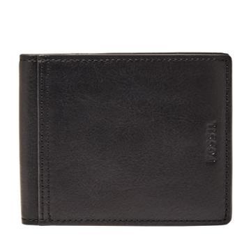 Fossil Barns Rfid Traveler  Wallet Black- Sml1661001