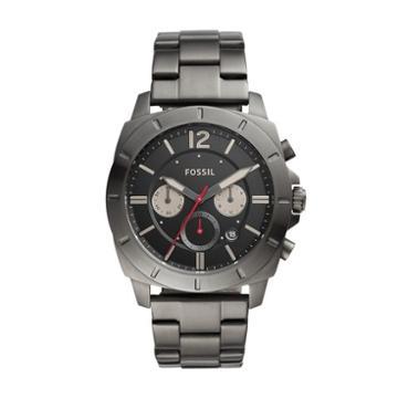 Fossil Privateer Sport Multifunction Smoke Stainless Steel Watch  Jewelry - Bq2413ie