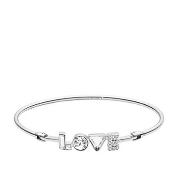 Fossil Love Stainless Steel Bangle  Jewelry - Jof00460040