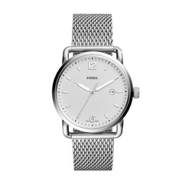 Fossil The Commuter Three-hand Date Stainless Steel Watch  Jewelry - Fs5418