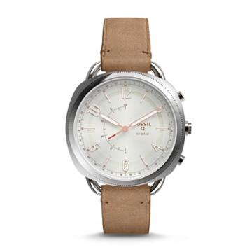 Fossil Refurbished Hybrid Smartwatch - Accomplice Sand Leather  Jewelry - Ftw1200j