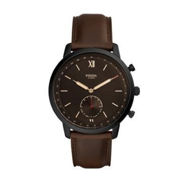 Fossil Hybrid Smartwatch - Neutra Whiskey Leather  Jewelry - Ftw1179