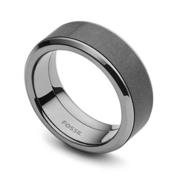 Fossil Steel Ring Jf0236879310