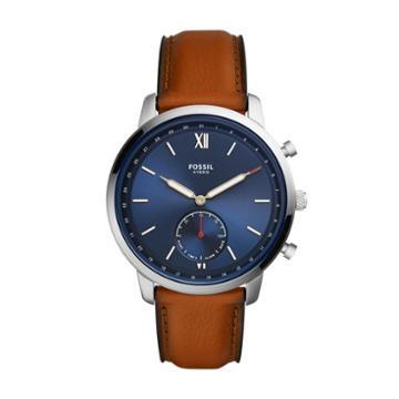 Fossil Hybrid Smartwatch - Neutra Luggage Leather  Jewelry - Ftw1178