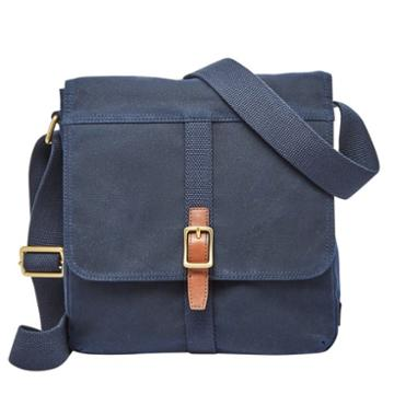 Fossil Evan City Bag  Bags Navy- Sbg1218400