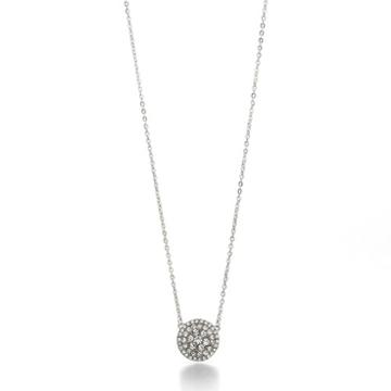 Fossil Glitz Disc Necklace  Necklaces - Jf00138040