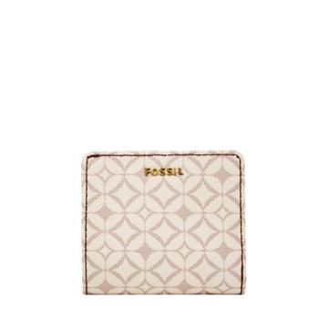 Fossil Madison Bifold  Wallet Bone- Swl2031105