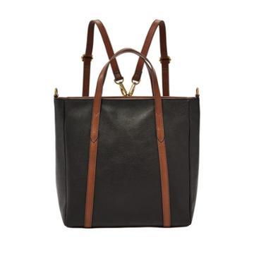Fossil Sydney Convertible Backpack  Handbags Black- Shb2096001