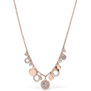 Fossil Pearl Disc Necklace Jf01741791